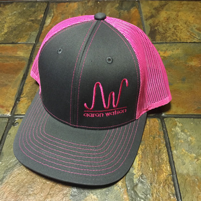 Neon Trucker Pink AW Ranch Brand Hat