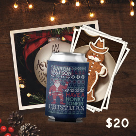 Aaron Watson Christmas Postcard Package
