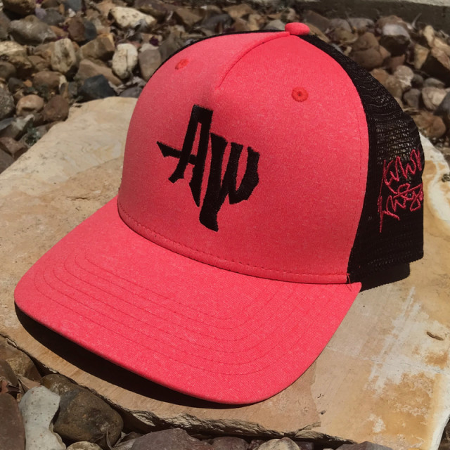 Neon Coral AW Snap Back