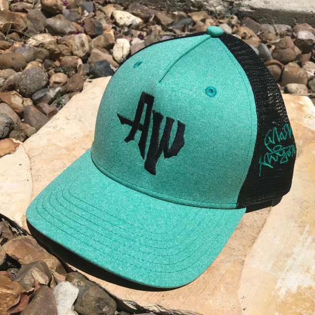 Seafoam AW Snap back