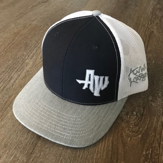 Navy Grey Combo AW TX Hat