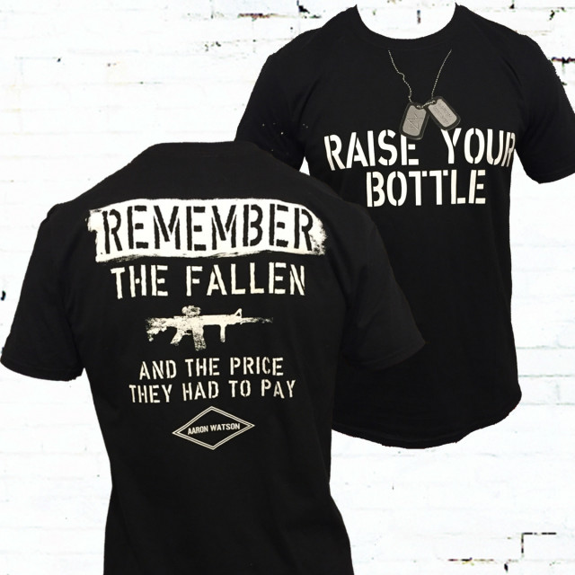 Raise Your Bottle Black