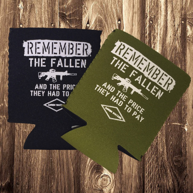 Remember The Fallen Koozie